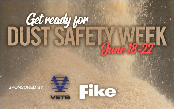 Dust Safety Week 2018 is approaching!