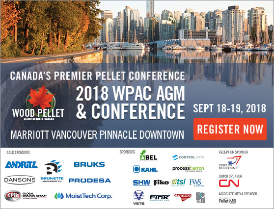 Find out how to grow Canada's pellet market at WPAC 2018!